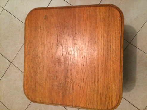 6 x Solid Oak Wood Counter Chairs