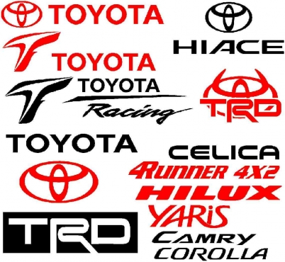 Toyota Trd Off Road Decals Stickers Graphics Junk Mail