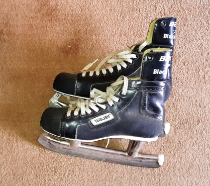 Ice skate shoes Bauer Black Panther size 6