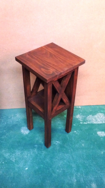 Used, Night stand Cottage series 300 with crosses Stained for sale  Johannesburg - Brakpan