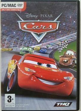 Cars Disney Pixar Mac & PC Awesome Game