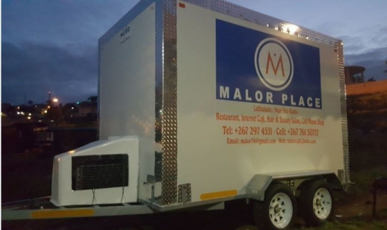 Mobile coldrooms - Mobile Freezer - Mobile chiller
