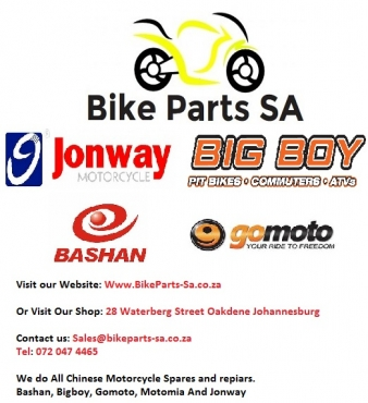Parts and Spares for Chinese Motorcycle and Scooters