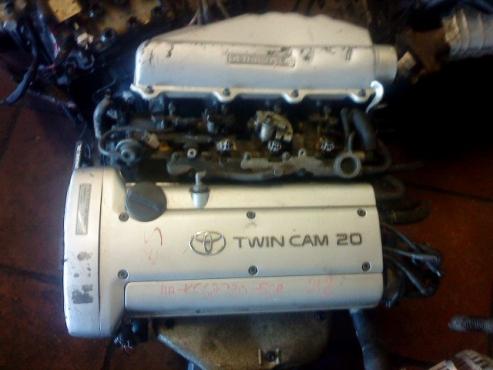TOYOTA TWINCAM 4AGE 20V SILVERTOP ENGINE