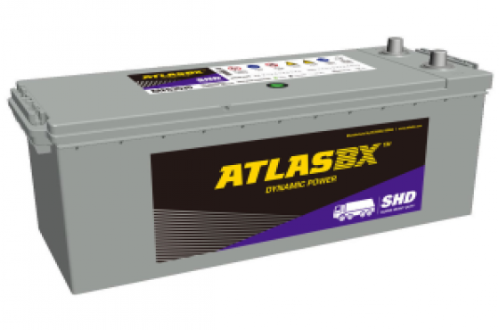 Atlas 683 12v 120ah Truck Battery - Maiden Electronics Battery Fitment Centre R 2,509
