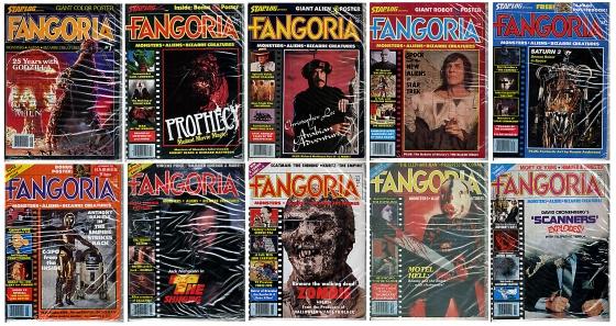 Fangoria Magazines 1 - 10