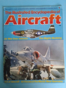 The Illustrated Encyclopedia Of Aircraft - Magazine 1. for sale  Johannesburg - East Rand