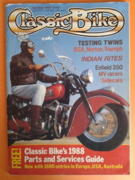 (Magazine) Classic Bike - October 1987.