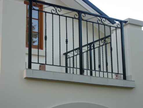 Stainless Steel Balcony Rails Steel Carports Installed