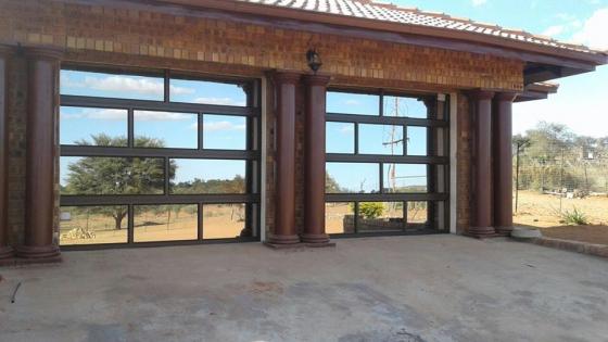 Aluminium Garage Doors, Window Frames Etc