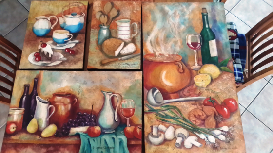 Various Origanal Coffee Shop Paintings for Sale All Inclusive