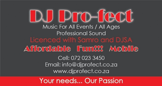 DJ Pro-fect...Mobile DJ - (ALL Occasions) - Great Prices!!