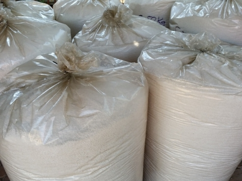 Polystyrene beads for bean bag filling (polystyrene regrind)