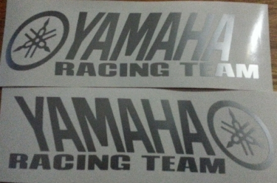 Pair of Yamaha Racing Team decals stickers graphics for sale  Durban - Durban Central