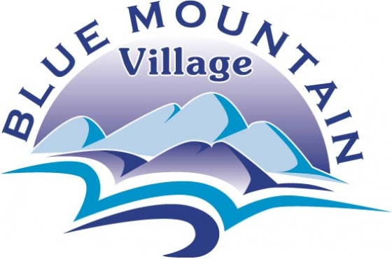 Stands for SALE. Blue Mountain Village - George