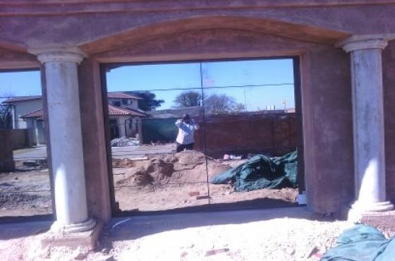Aluminium And Glass Garage Door Doors Windows Shopfront