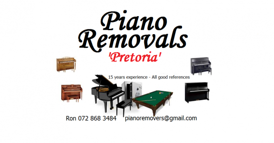 Local Piano Removals for R700