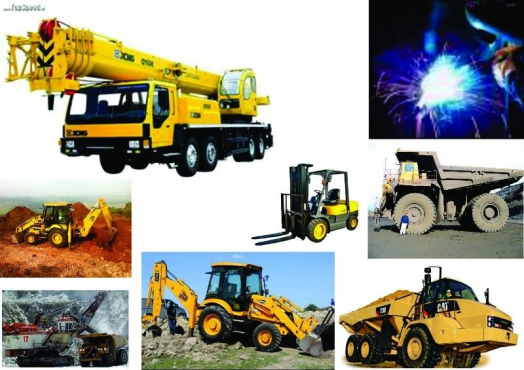 Mafikeng Boilermaker course Drill rig lhd scoop dump truck front end loader excavator training.