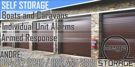 Self Storage Units, Caravan Storage