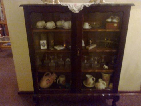 Antique Showcase For Sale