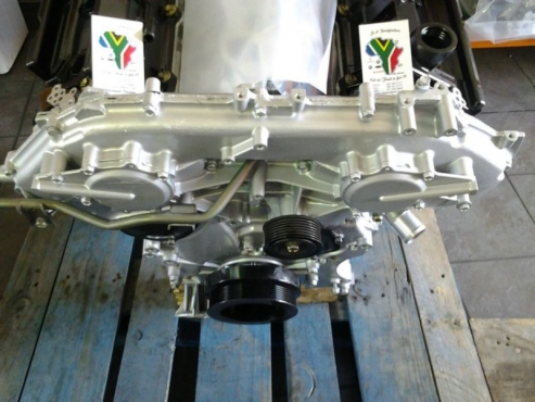 Nissan Navara 40l V6 VQ40 Complete Engine