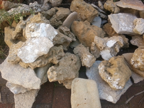 Natural sand stone for marine tank