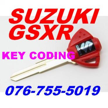 Suzuki GSXR bike key coding