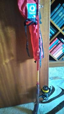 1,8m Junior Fishing Rod and Reel