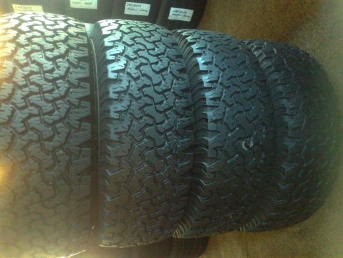 Based in 2 Flowers street, Capital Park,Pretoria suppliers  second hand tyres.