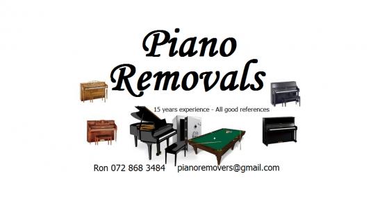 Piano Removal specialist Johannesburg
