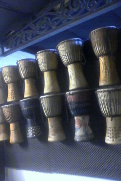 West African Djembe Drums - various sizes