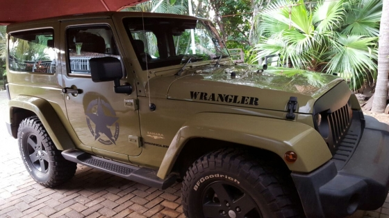 Jeep Dakar graphics stickers decals
