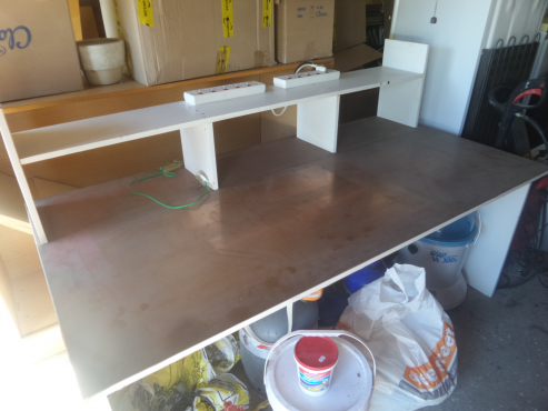 Electronic Work Bench - COPPER clad work top