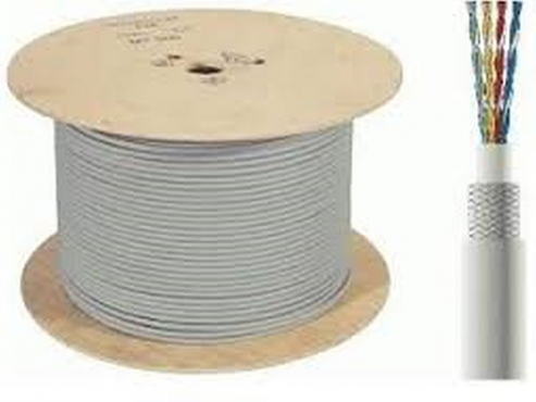 Cat 6 network cable, R1800/500meter drums--