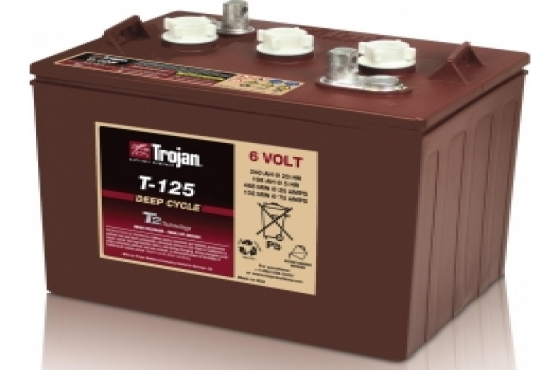 Trojan T125 6v 240ah Golf Cart Battery - Maiden Electronics Battery Fitment Centre R 3762