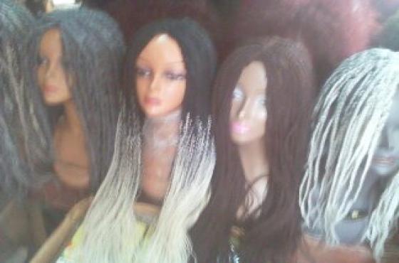 fashion weavon braids wigs hair styles and salon  equipments