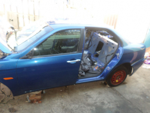 Complete 3  Alfa romeo 156  Blue, Black and SILVER  in colour stripping for spares   for sale  compl