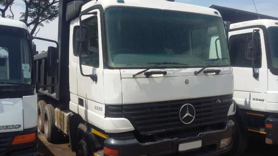 Mercedes Benz Actros 3335 10 cube tipper truck