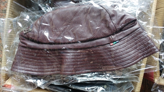Hats for sale (bulk) - Genuine Leather, made in Italy