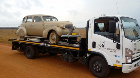 Chev & other Classic Car Transport Durban to Gauteng.