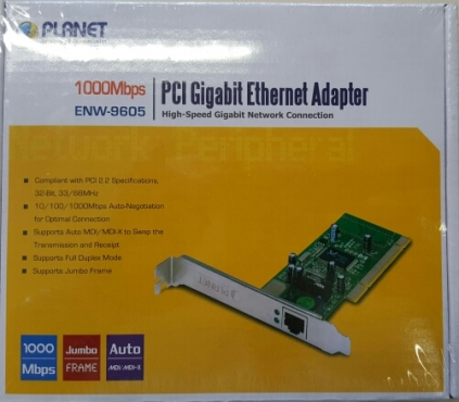 PCI Gigabit Ethernet Adapter NIC