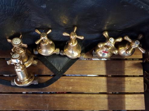 Brass bath mixers | Junk Mail