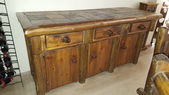The Ranch Style Dining Table Set