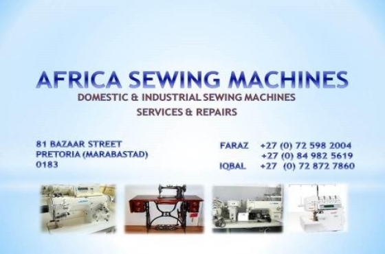 Industrial sewing machines (Africa Sewing Machines)