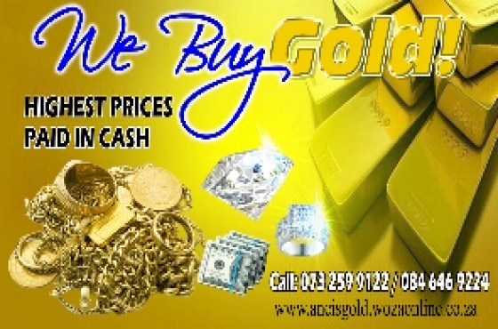 Ancis GOLD Buyers in Centurion PTA