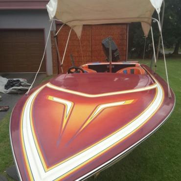 Raven Speed Boat 115 Mercury enjin