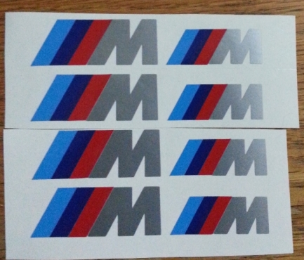 M Performance vinyl decals stickers graphics