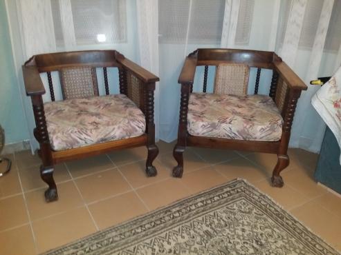 Stinkwood & Cane lounge suite