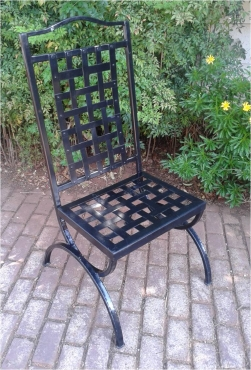 Solid Wrought Iron Chair