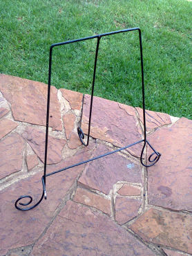 Wrought Iron Picture Stand